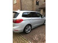 BMW 220d 7 Seater Top Spec April 2016 Ex Demo