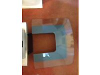 70 cm curved glass oven hob extrator fan.