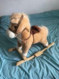 Child's rocking horse
