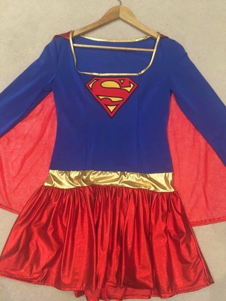 Super woman fancy dress costume , great for Halloween!