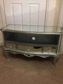 Fabulous Mirrored TV Cabinet Brand New