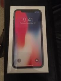 SEALED BOX - IPHONE X - 64GB - SPACE GREY