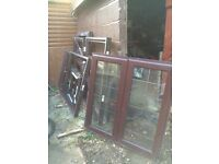UpvcWindows frames and glass never used Job lot