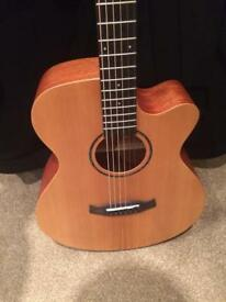 Brand new Tanglewood electro acoustic guitar solid cedar top RRP £229
