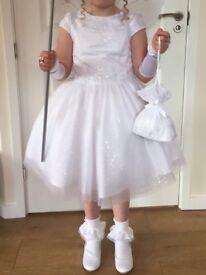 White fairy dress/flower girl