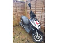 Peugeot Kisbee 2015 100cc - very low mileage, fully service history