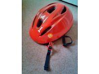 Child's cycle helmet - very new