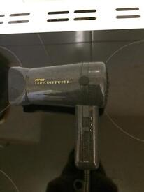 Hairdryer & New Curling Tongs