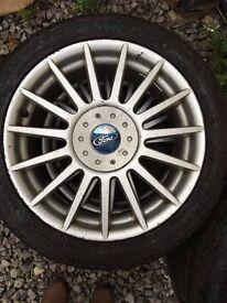 "Ford Fiesta Alloy Wheels 17"""