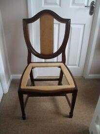 solid mahogany chair