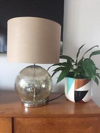 Next gold sparkle table lamp
