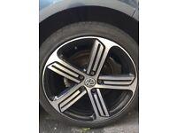 Vw golf r wheels genuine