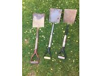 **GARDEN TOOLS**SHOVELS**£8 EACH**BARGAIN!!!