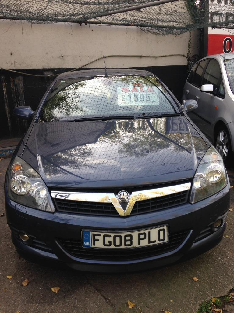 Vauxhall Astra Twintop Sport, 2008, low mileage, some history, long mot.