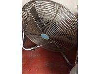 Large freestanding floor fan