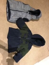 Baby boys coats and gilets