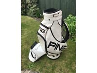 * SOLD * PING TOUR / STAFF GOLF BAG * sort after