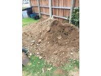 Soil and hardcore