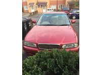 Rover 600, automatic fast car 11 months mot