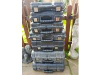 Dewalt cases boxes