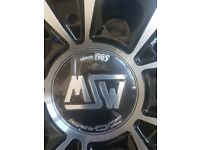 ONE MSW BLACK POLISHED 18inch ALLOY