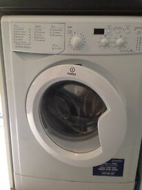 Indesit IWD7145 Washing Machine, 7kg Wash Load, 1400 RPM Spin, A Energy Rating