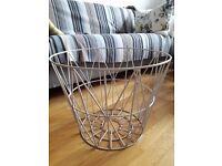 Ferm cream metal basket - medium £20