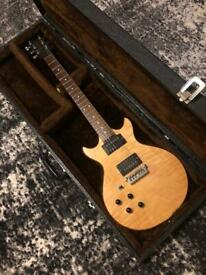 Left Handed Gordon Smith GS2 Double Cutaway Electric Guitar
