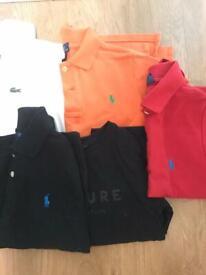Boys T-shirts 5-6 Ralph Lauren, Lacoste