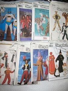 8 patrons de costumes d'Halloween et 5 autres