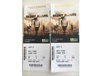 Premiership Rugby Tickets x2