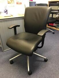 luxury leather chair in great condition