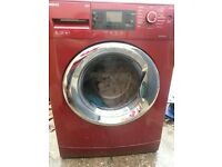 Beko 9kg washer in red