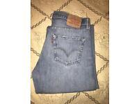 Levis distressed jeans! W32 L32