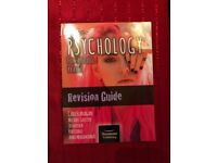 Psychology aqa year 1 and 2 text book and revision book