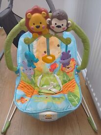 Fisher price baby bouncer chair, excellent condition