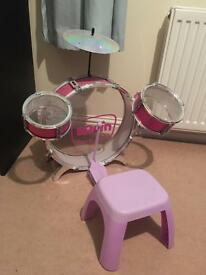 Bruin Kids drum set