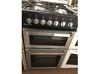 50CM BLACK SILVER FLAVEL GAS COOKER