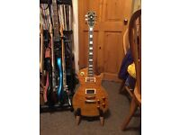 J&D Brothers Les Paul guitar.