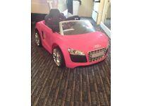 Avigo Audi pink push buggy car