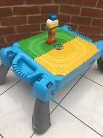 Activity table blocks low level toy