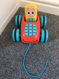 Pull-Along Telephone & Mobile Toy with Sounds