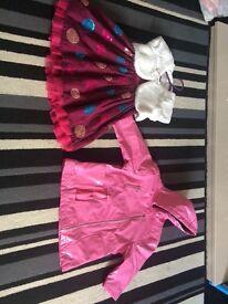 Girls 12-18 months bundle includes a ELLIE raincoat
