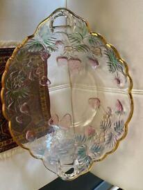 Dessert bowl,Crystal bowl, fruit bowl, large glass bowl, dinner set