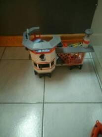 Kids Playmobil coast guard station