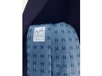 Vintage Blue Hermes Paris Tie