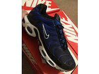 Nike air max TN blue/blk/wht 7 uk only