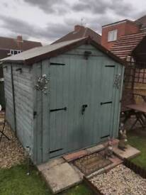 8ft 6 shed