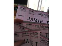 JAMIE T HIPPODROME GIG 5 TICKETS AVAILABLE