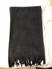 O'Neill black fleece scarf
